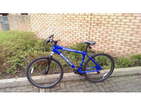 """Aluminum Bike + FREE GIFT . 26"""" Wheels, Bicycle in excellent Working Condition. 21 shimano gears."""