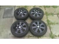 "15"" Set of Corsa C Black Alloys / Wheels"
