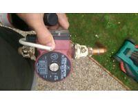 Pump central heating grundfos super selectric ups 15-60