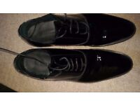 Marks and Spencer men's dress shoes - worn once!