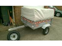 Erka 4x3 Trailer with high extension kit