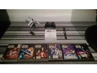 Star Wars 1-6 Limited Edition DVD's / RC Helicopter / Brand New JCB Watch / Glasgow / Free Delivery
