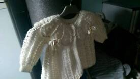 Up to 2 years beautiful cardigan and bonnet