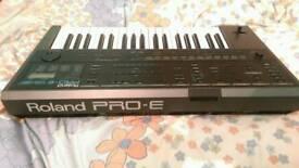 ROLAND PRO E KEYBOARD. Grab a bargain!!