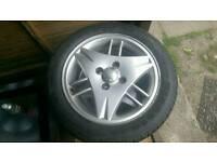 Ford si alloy wheels