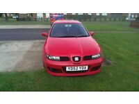 Seat leon 1.4 with cupra r body kit