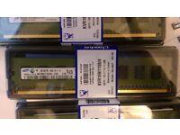 9GB(4x2GB + 1 x 1GB) DDR3 PC3 240 pin Desktop Memory RAM DIMM