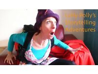 Lolly Polly's Exciting Storytelling Adventures - great for children's parties!