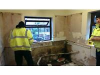GENERAL BUILDER-KITCHEN&BATHROOM FITTER-JOINER-PLASTERER-PAINTER-DECORATOR-TILER-PLUMBER.......