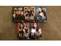 Alias DVD's - Complete seasons 1-5