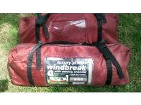 2* Outdoor Revolution Vision Windbreak with Awning Channel
