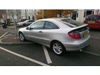 Mercedes c200SE (automatic diesel)