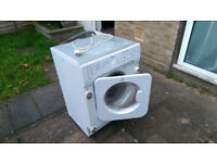 Indesit Integrated Washer Dryer IWDE126 Spares or Repair