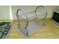 New dish drainer with removable tray