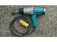Makita 3/4 impact wrench rattle gun