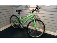 Brand New Mountain Bike Ladies silver Red Green STUDENT BIKE