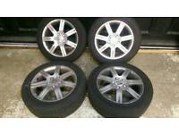 16 inch Seat Leon 1.6 Stylance Alloy Wheels Set with Tyres