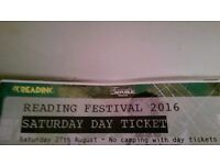 2 x Reading Festival Day Tickets - Sat 27 Aug