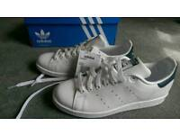 New Adidas Mens Stan Smith Trainers Size 7,5