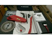 Parkside table saw PTK 2000 C3 nearly new 2000W