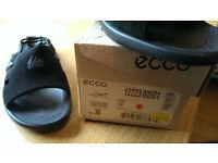 Ecco Shark Sling Back Sandals, Black