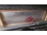 1 full sheet of 100mm celotex GA4100