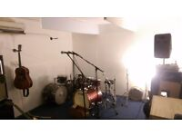Music Rehearsal Studio in Manor House - Available to share - Band/drummers/musicians wanted