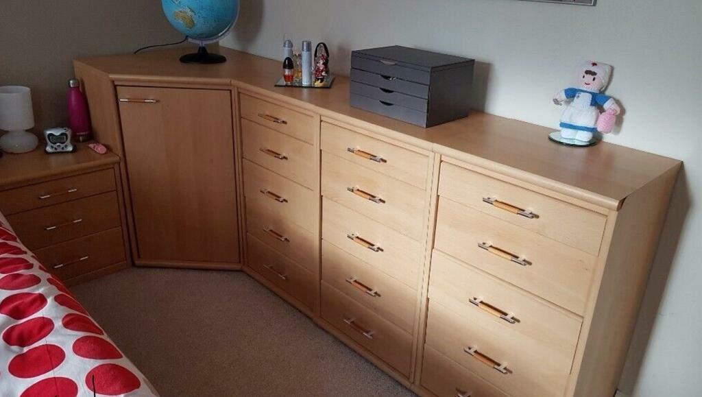 bedroom storage furniture units  in east kilbride