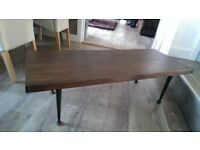 Retro coffee table 1960s Meredew furniture