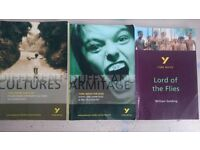 x3 Pearson GCSE York Notes Small Textbooks (Lord of the Flies, Poetry & Duffy and Armitage)