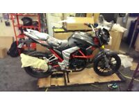 Lexmoto venom se 125cc with warranty until end of 2018