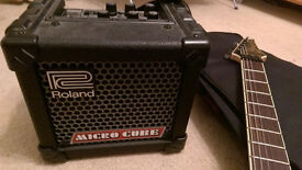 Roland Micro Cube Amp - Price dropped to £ 42 !