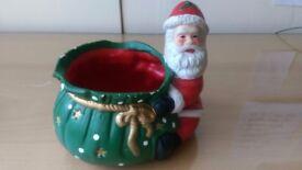 Santa sweeties bowl