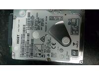"HGST 500GB Hard Drives 2.5"" (Laptop Hard Drives)"