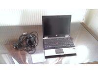 HP Elitebook 2540p laptop with Intel Core i5 Vpro 2.54GHz CPU processor