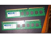 16GB ram kit 2x8gb DDR3 1600mhz