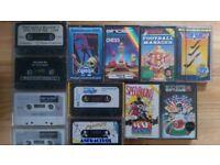 Commodore64 Game Cassettes