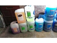 Professional Valeting Chemical and Material