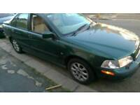 Volvo S40 automatic. Very low mileage