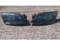 Ford mondeo mk3 pair of black eye headlights