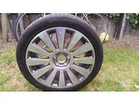 "Genuine Audi 19"" 12-Spoke Polished Finish Alloy Wheel (Came off a Audi A8 S-Line)"