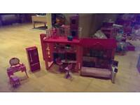 Barbie Glam Vacation play house