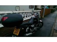Zontes Monster 125cc + topbox