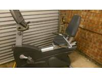 Life fitness recumbent fitness bike