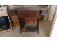 Singer Treadle sewing machine (foot operated)