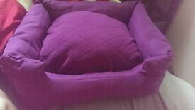 Medium Dog Bed/Pillow, Brand New. Never Been Used