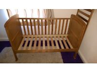 Penelope Country Pine Cot Bed