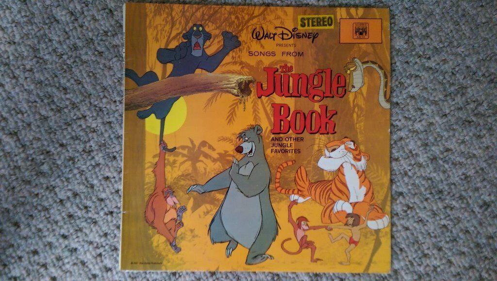 Jungle Book Vinyl Lp Disneyland Records Walt Disney Soundtrack