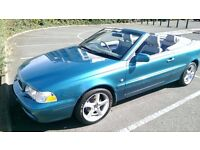 Volvo C70 T 2.0 Convertible FSH 2002 Private Plate I years Mot