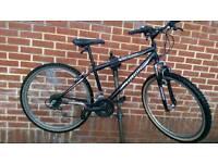 """Hawk Black Russian 26"""" Wheels Front Suspension Bike"""